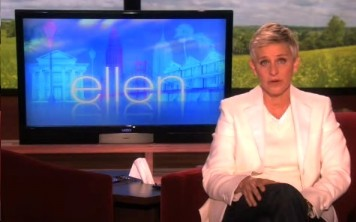 Ellen talking about Tyler Clementi